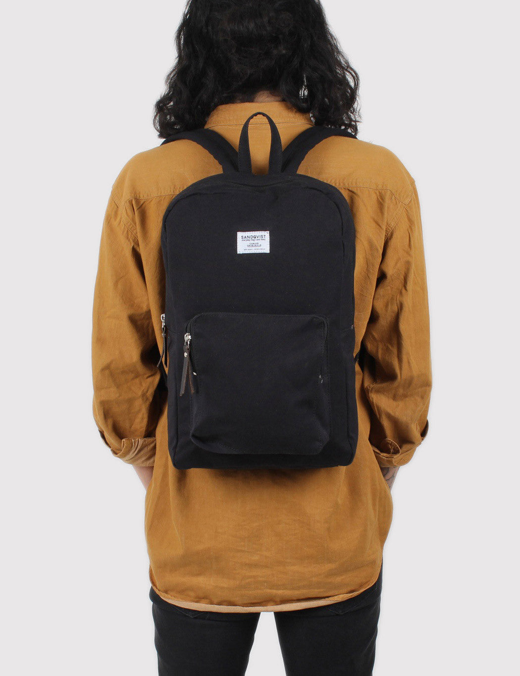 Sandqvist Kim Ground Backpack - Black