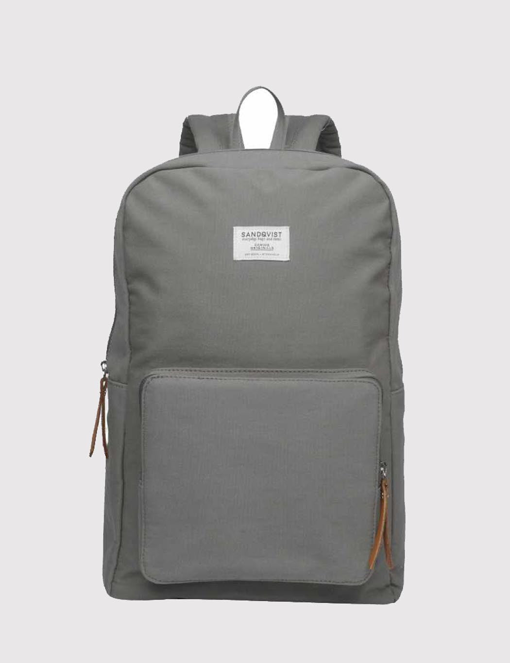 Sandqvist Kim Backpack (Canvas) - Grey
