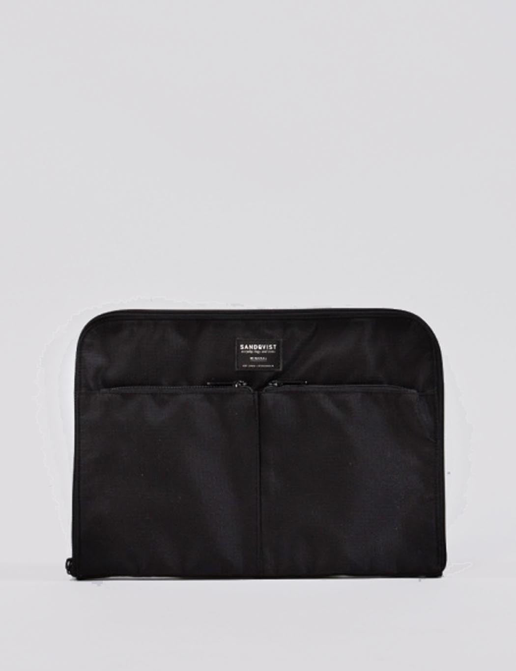 Sandqvist Espen Laptop Case (Ripstop) - Black