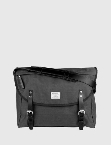 Sandqvist Erik Messenger Bag - Dark Grey