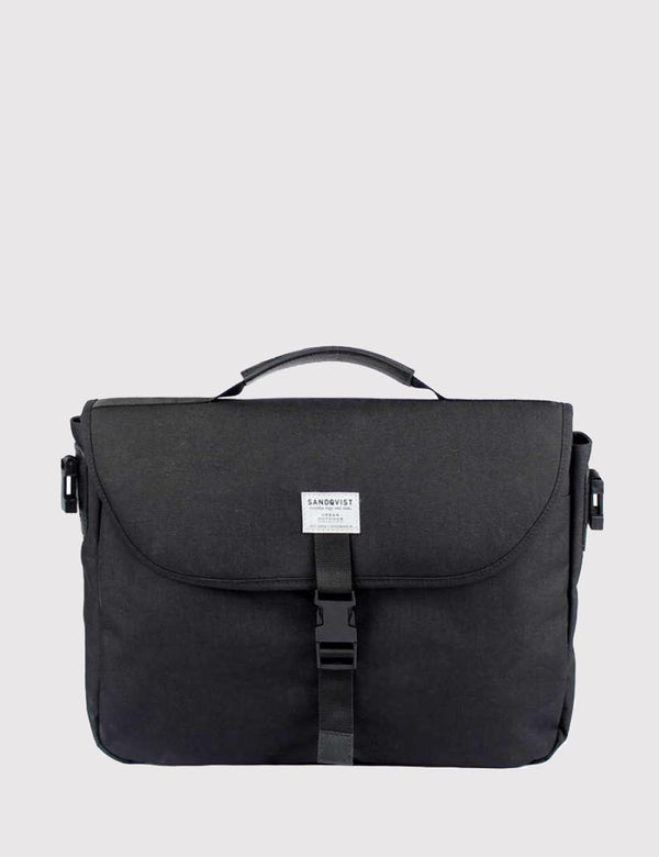 Sandqvist Patrik Laptop Bag (Cordura) - Black