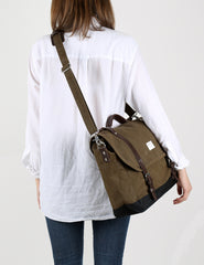 Sandqvist Izzy Messenger Bag - Olive Green