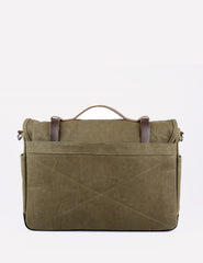 Sandqvist Izzy Messenger Bag (Cotton) - Olive Green