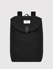 Sandqvist Hilda Backpack (Canvas) - Black