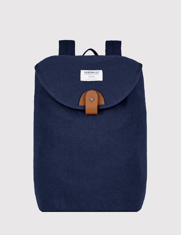 Sandqvist Hilda Backpack (Canvas) - Blue