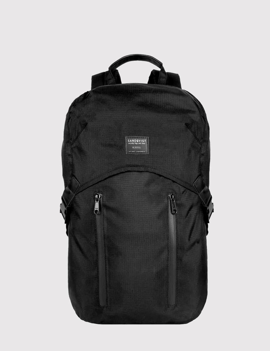 Sandqvist Leo Backpack (Ripstop) - Black