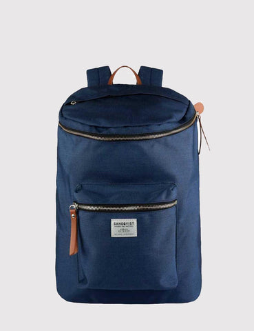 Sandqvist Tobias Backpack (Cordura) - Blue