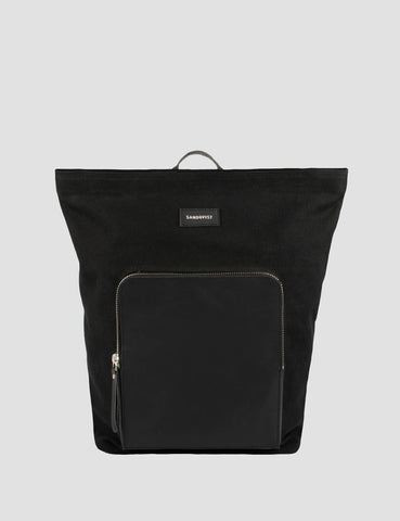 Sandqvist Misha Backpack (Canvas) - Black