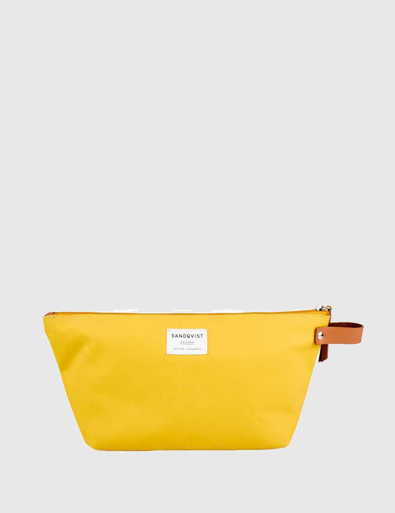 Sandqvist Cleo Wash Bag - Yellow