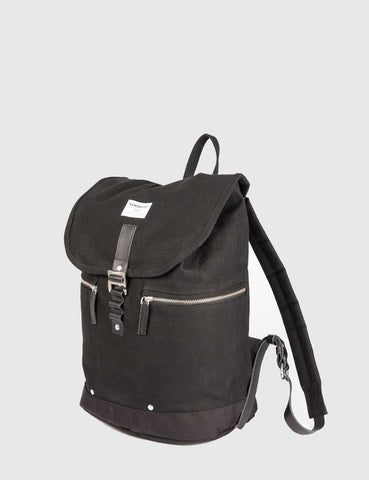 Sandqvist Gary Backpack (Canvas) - Black