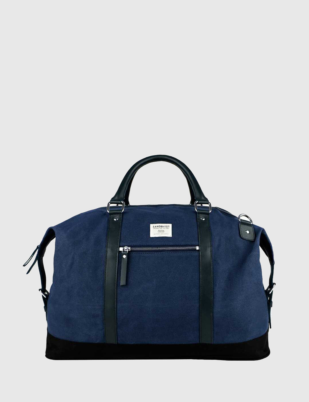 Sandqvist Jordan Weekend Bag - Waxed Blue