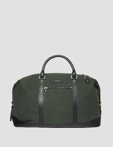 Sandqvist Jordan Weekend Bag (Canvas) - Beluga Green