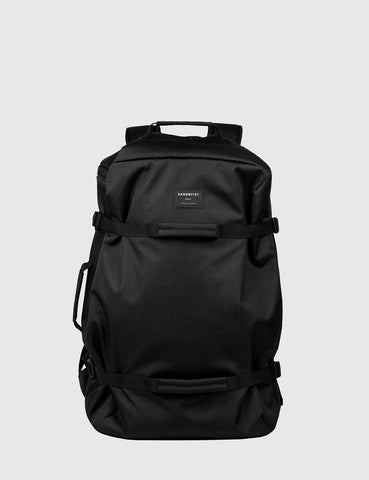 Sandqvist Zack Duffel Backpack (Ripstop) - Black