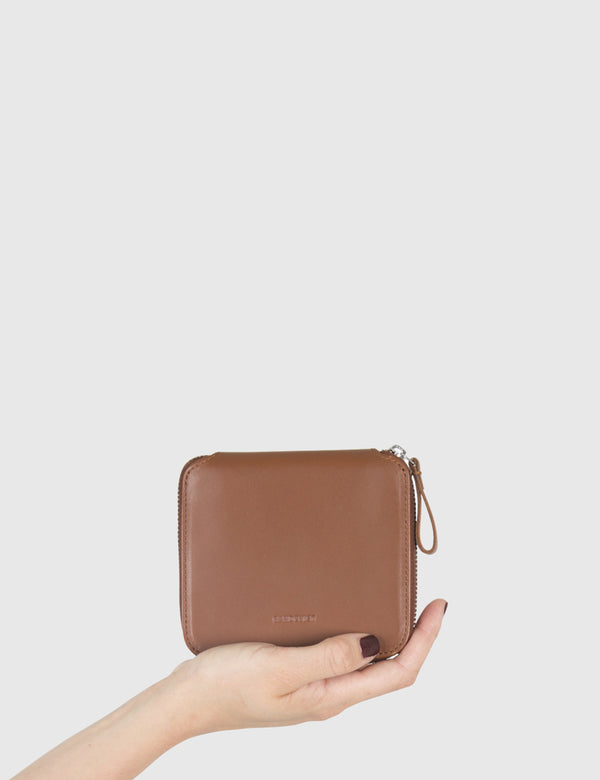 Sandqvist Ika Wallet (Leather) - Cognac Brown