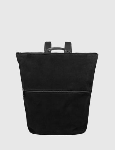Sandqvist Doris Backpack (Suede) - Black