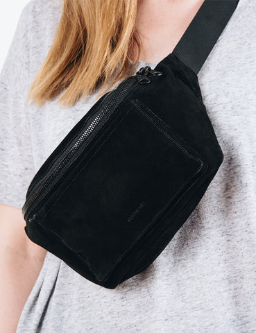 Sandqvist Sarah Hip Bag (Suede) - Black