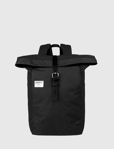 Sandqvist Silas Backpack (Canvas) - Black