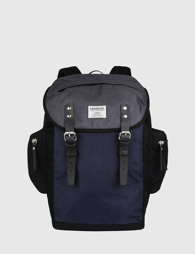Sandqvist Lars-Goran Backpack (Canvas) - Black