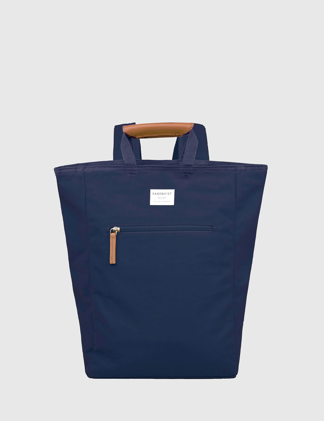 Sandqvist Tony Tote Bag (Canvas) - Blue | URBAN EXCESS.