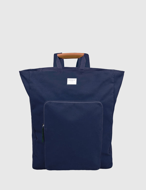 Sandqvist Sasha Tote Bag (Canvas) - Blue