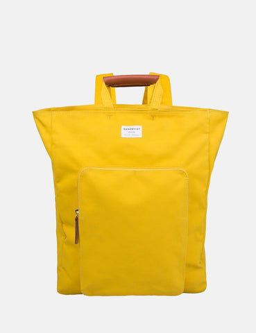 Sandqvist Sasha Tote Bag (Canvas) - Yellow