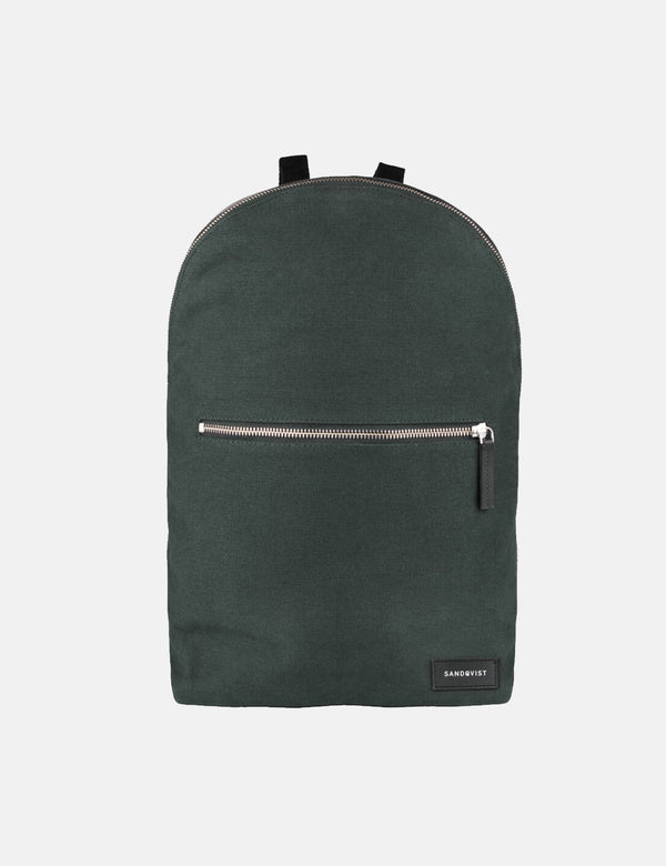 Sandqvist Alfons Backpack (Canvas) - Beluga Green