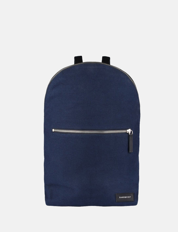 Sandqvist Alfons Backpack (Canvas) - Blue