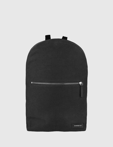 Sandqvist Samuel Backpack (Canvas) - Black