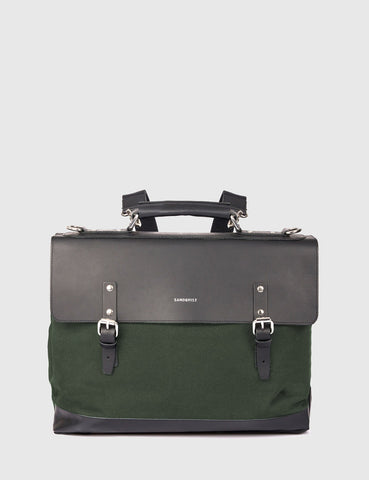 Sandqvist Jones Doctors Bag (Canvas) - Beluga Green