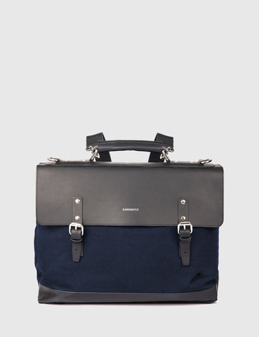 Sandqvist Jones Doctors Bag (Canvas) - Blue