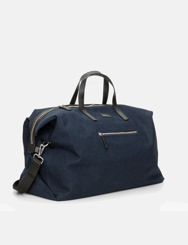 Sandqvist Damien Weekend Bag - Blue/Black