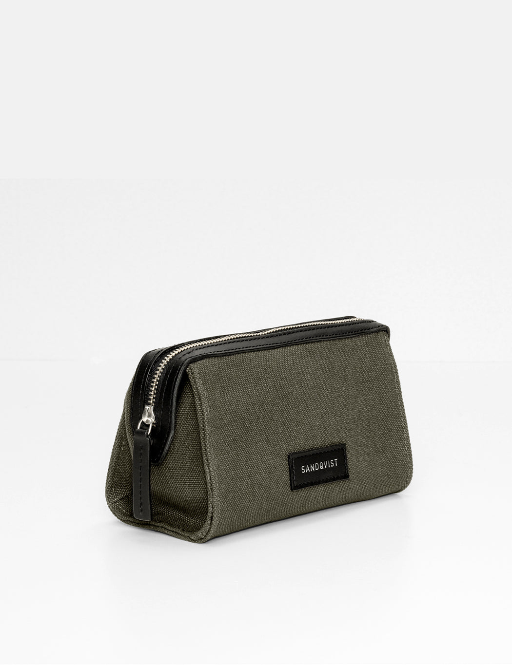 Sandqvist Ina Wash Bag - Beluga Green