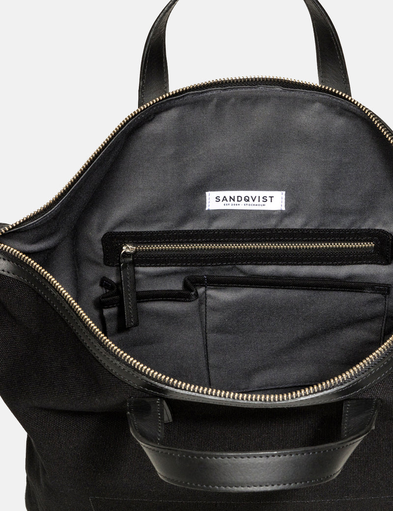 Sandqvist Jussi Laptop Bag - Black