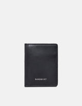 Sandqvist Titus Card Holder (Leather) - Black