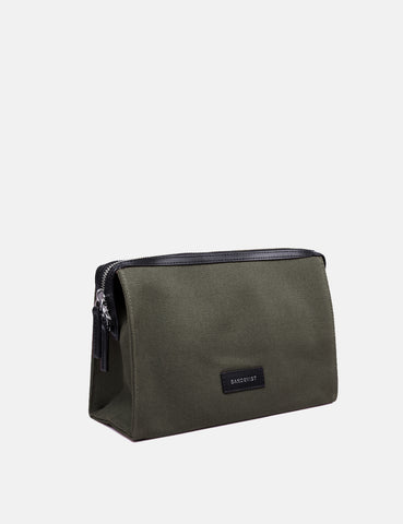 Sandqvist Sana Wash Bag - Beluga Green