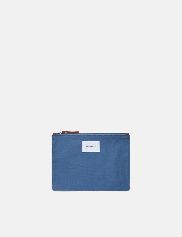 Sandqvist Ture Pouch (Medium) - Dusty Blue