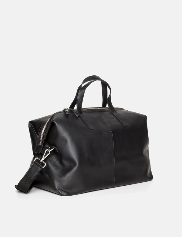 Sandqvist Holly Weekend Bag (Leather) - Black