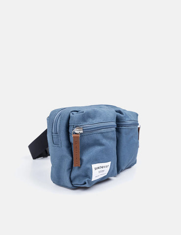Sandqvist Paul Hip Bag - Dusty Blue