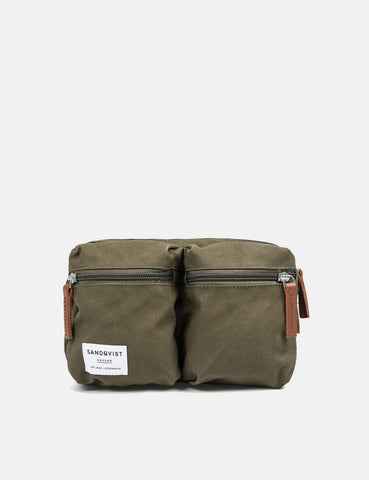 Sandqvist Paul Hip Bag - Olive Green