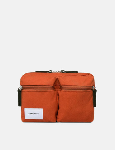 Sandqvist Paul Hip Bag - Rust Red
