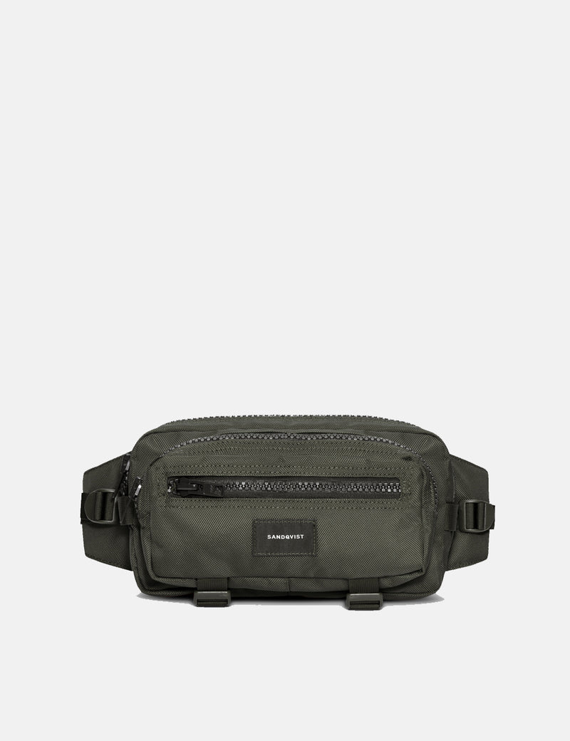 Sandqvist Felix Hip Bag - Beluga Green