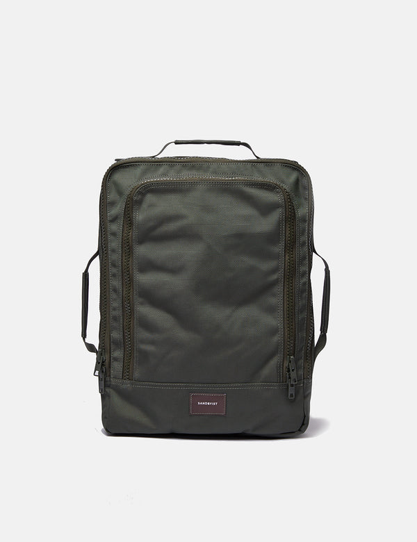 Sandqvist Tyre Messenger Bag - Beluga Green