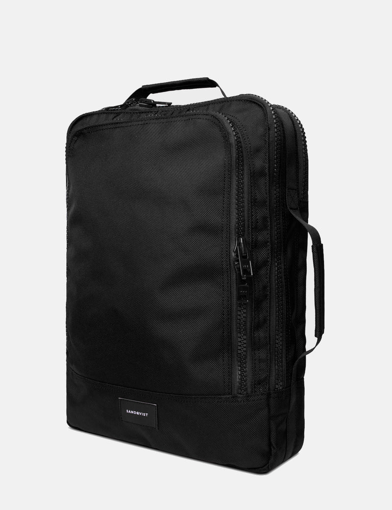Sandqvist Tyre Messenger Bag - Black