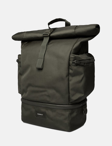 Sandqvist Verner Backpack - Beluga Green