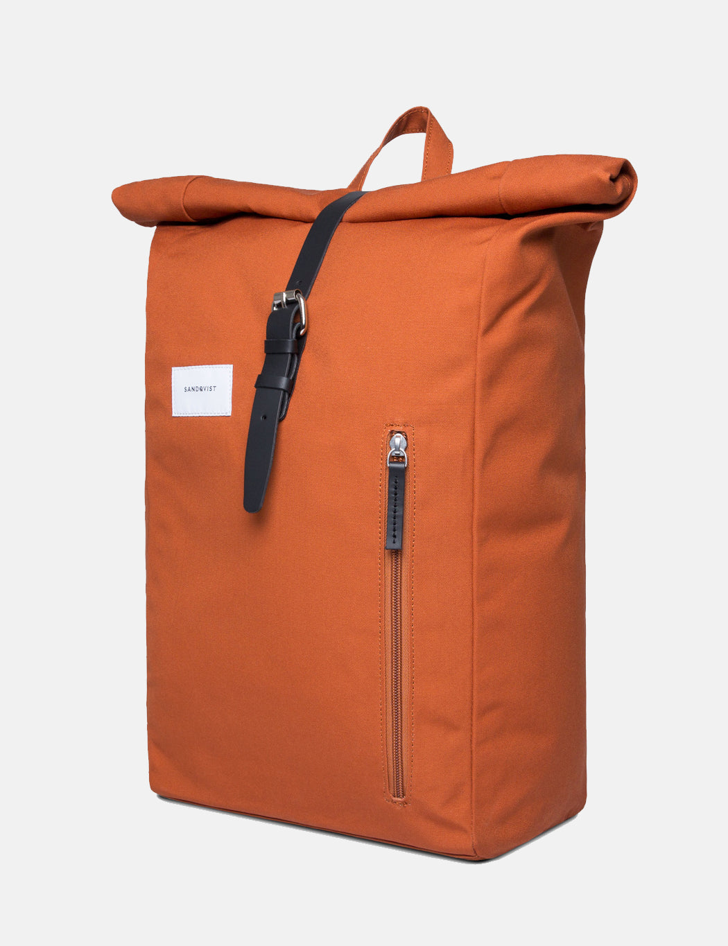 Sandqvist Dante Roll Top Backpack - Rust Red