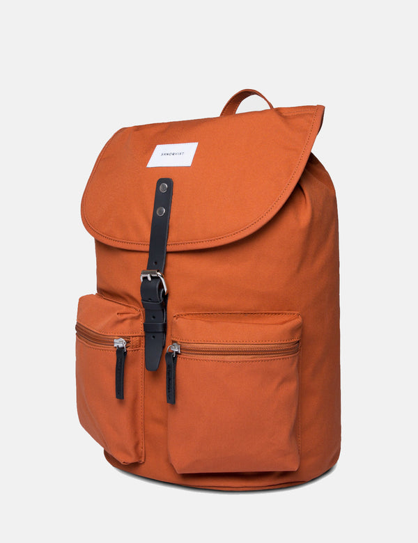 Sandqvist Roald Ground Backpack - Rust Red