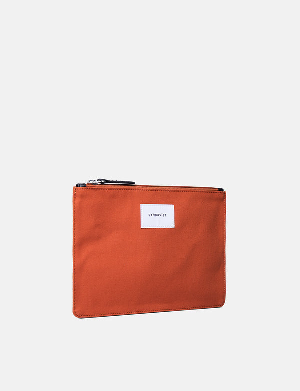 Sandqvist Ture Pouch (Medium) - Rust