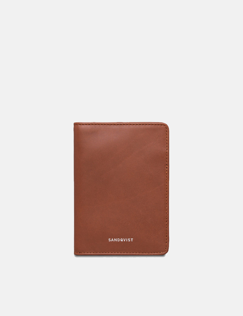 Sandqvist Malte Wallet (Leather) - Cognac Brown