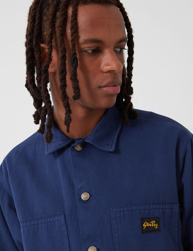 Stan Ray Box Jacket (Overdyed) - Navy Blue