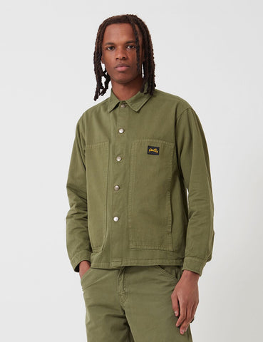 Stan Ray Box Jacket (Overdyed) - Olive Green